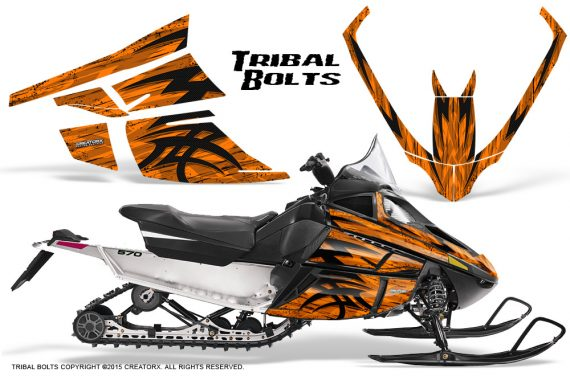 Arctic_Cat_F_Series_Graphics_Kit_Tribal_Bolts_Orange