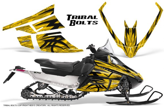 Arctic_Cat_F_Series_Graphics_Kit_Tribal_Bolts_Yellow