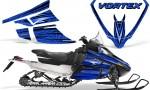 Arctic Cat F Series Graphics Kit Vortex Blue 150x90 - Arctic Cat F Series F Series Z1 Bearcat 2000 Lynx Graphics