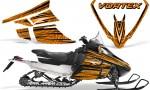 Arctic Cat F Series Graphics Kit Vortex Orange 150x90 - Arctic Cat F Series F Series Z1 Bearcat 2000 Lynx Graphics