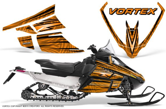 Arctic_Cat_F_Series_Graphics_Kit_Vortex_Orange