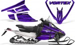 Arctic Cat F Series Graphics Kit Vortex Purple 150x90 - Arctic Cat F Series F Series Z1 Bearcat 2000 Lynx Graphics