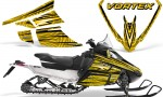 Arctic Cat F Series Graphics Kit Vortex Yellow 150x90 - Arctic Cat F Series F Series Z1 Bearcat 2000 Lynx Graphics