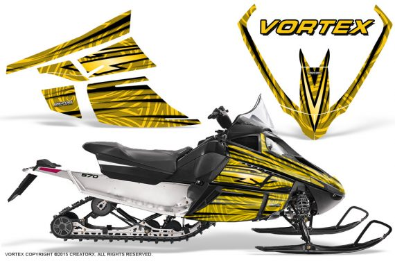 Arctic_Cat_F_Series_Graphics_Kit_Vortex_Yellow