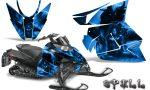 Arctic Cat Pro Climb Cross 2012 Graphics Kit Spell Blue 150x90 - Arctic Cat ProClimb ProCross SnoPro ZR-XF-M 2012-2016 Graphics
