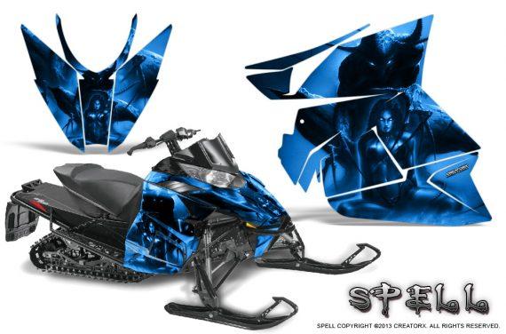 Arctic Cat Pro Climb Cross 2012 Graphics Kit Spell Blue 570x376 - Arctic Cat ProClimb ProCross SnoPro ZR-XF-M 2012-2016 Graphics