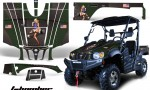 Bennche BigHorn AMR Graphics Kit TB GB 150x90 - Bennche Big Horn Side x Side UTV Graphics