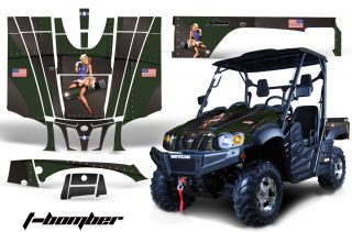 Bennche BigHorn AMR Graphics Kit TB GB 320x211 - Bennche Big Horn Side x Side UTV Graphics
