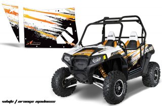 BlingstarOEM Web XP800 2011 Orange RG l 320x211 - Polaris RZR 800 Graphics for Bling Star Doors