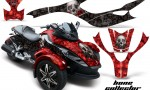 CAN AM SPYDER BONECOLLECTOR RED BLACK WEB 150x90 - Can-Am Spyder RS GS Graphics