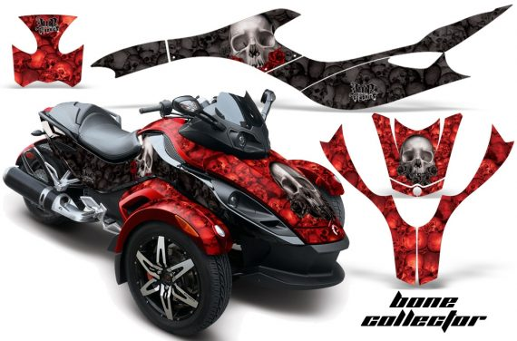 CAN AM SPYDER BONECOLLECTOR RED BLACK WEB 570x376 - Can-Am Spyder RS GS Graphics
