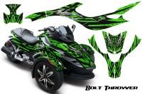 CAN-AM-SPYDER-CreatorX-Graphics-Kit-Bolt-Thrower-Green