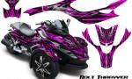 CAN AM SPYDER CreatorX Graphics Kit Bolt Thrower Pink 150x90 - Can-Am Spyder RS GS Graphics
