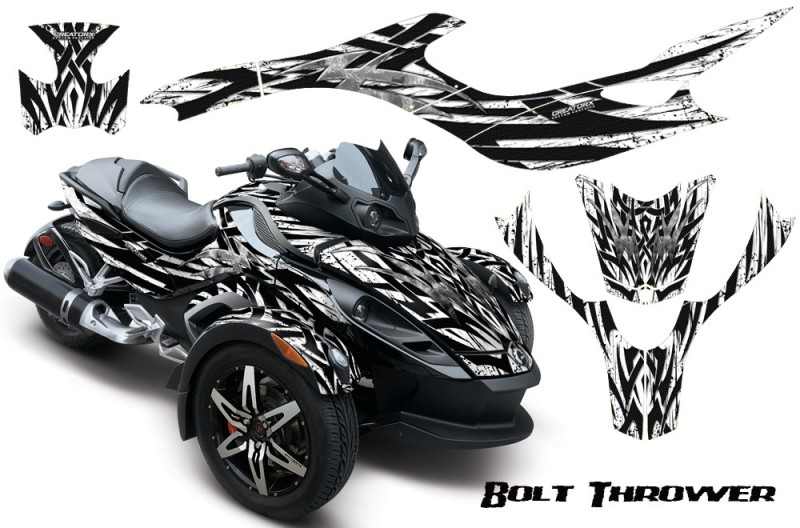 CAN-AM-SPYDER-CreatorX-Graphics-Kit-Bolt-Thrower-White