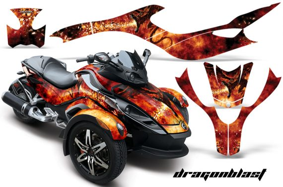 CAN AM SPYDER CreatorX Graphics Kit Dragonblast BB 570x376 - Can-Am Spyder RS GS Graphics