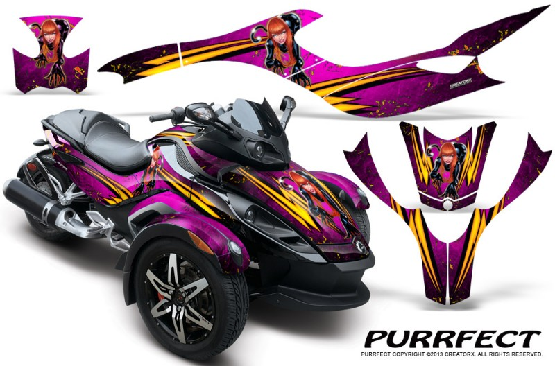CAN-AM-SPYDER-CreatorX-Graphics-Kit-Purrfect-Pink