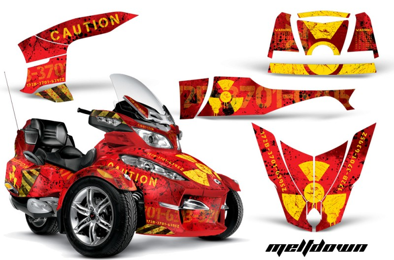 CAN-AM-SPYDER-RT-S-AMR-Graphic-Kit-MELTDOWN-Y-R-TK