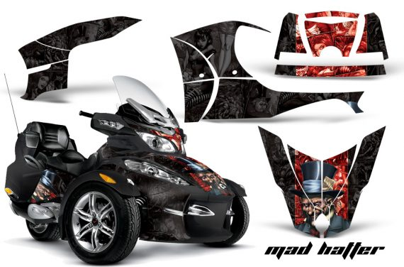 CAN AM SPYDER RT S AMR Graphic Kit MH R K CK 570x376 - Can-Am Spyder RTS 2010-2013 Graphics