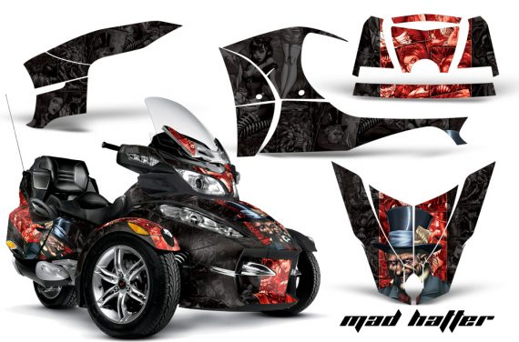CAN AM SPYDER RT S AMR Graphic Kit MH R K TK 570x376 - Can-Am Spyder RTS 2010-2013 Graphics with Trim Kit