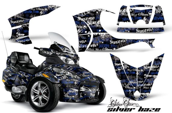 CAN AM SPYDER RT S AMR Graphic Kit SH U K TK 570x376 - Can-Am Spyder RTS 2010-2013 Graphics with Trim Kit