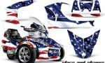 CAN AM SPYDER RT S AMR Graphic Kit SS TK 150x90 - Can-Am Spyder RTS 2010-2013 Graphics with Trim Kit
