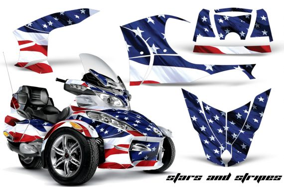 CAN AM SPYDER RT S AMR Graphic Kit SS TK 570x376 - Can-Am Spyder RTS 2010-2013 Graphics with Trim Kit