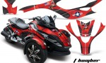 CAN AM SPYDER TBOMBER RED BLACKBG WEB 150x90 - Can-Am Spyder RS GS Graphics