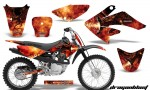 CRF 70 80 100 Graphics Kit Dragonblast BB 1 150x90 - Honda CRF70 2004-2015 Graphics