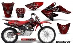 CRF 70 80 100 Graphics Kit SpiderX Red 1 150x90 - Honda CRF70 2004-2015 Graphics
