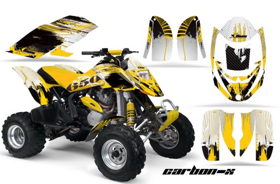 Can Am Bombardier DS650 AMR Graphics CX Yellow 570x376 - Can-Am DS650 Graphics