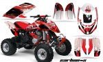 Can Am Bombardier DS650 AMR Graphics Carbon X Red 150x90 - Can-Am DS650 Graphics