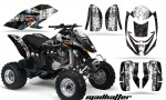Can Am Bombardier DS650 AMR Graphics MD HATTER BLK WHI STRI 150x90 - Can-Am DS650 Graphics