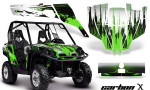 Can Am Commander AMR Graphic Kit CX Lime 150x90 - Can-Am BRP Commander 800-1000 Graphics