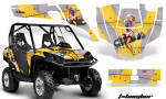 Can Am Commander AMR Graphic Kit TB Y 150x90 - Can-Am BRP Commander 800-1000 Graphics