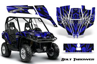 Can-Am-Commander-CreatorX-Graphics-Kit-Bolt-Thrower-Blue