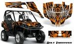 Can Am Commander CreatorX Graphics Kit Bolt Thrower Orange 150x90 - Can-Am BRP Commander 800-1000 Graphics