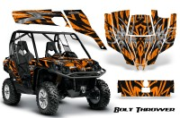 Can-Am-Commander-CreatorX-Graphics-Kit-Bolt-Thrower-Orange