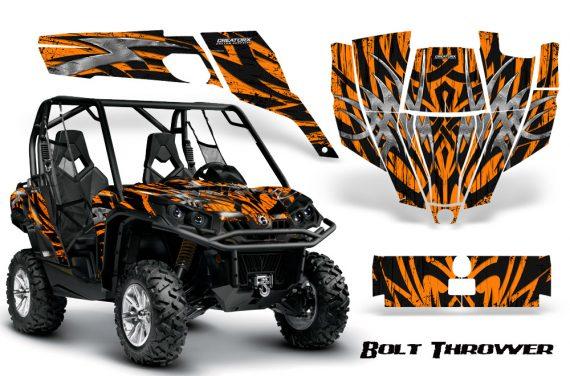 Can Am Commander CreatorX Graphics Kit Bolt Thrower Orange 570x376 - Can-Am BRP Commander 800-1000 Graphics