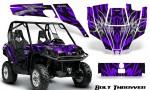 Can Am Commander CreatorX Graphics Kit Bolt Thrower Purple 150x90 - Can-Am BRP Commander 800-1000 Graphics