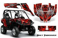 Can-Am-Commander-CreatorX-Graphics-Kit-Bolt-Thrower-Red