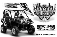 Can-Am-Commander-CreatorX-Graphics-Kit-Bolt-Thrower-White