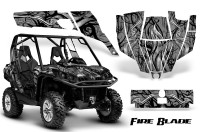 Can-Am-Commander-CreatorX-Graphics-Kit-Fire-Blade-Black-Silver-BB