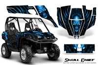 Can-Am-Commander-CreatorX-Graphics-Kit-Skull-Chief-Blue