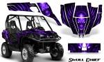 Can Am Commander CreatorX Graphics Kit Skull Chief Purple 150x90 - Can-Am BRP Commander 800-1000 Graphics