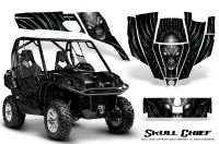 Can-Am-Commander-CreatorX-Graphics-Kit-Skull-Chief-Silver