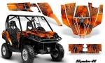 Can Am Commander CreatorX Graphics Kit SpiderX Orange 150x90 - Can-Am BRP Commander 800-1000 Graphics