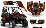 Can Am Commander CreatorX Graphics Kit SpiderX Orange Dark 150x90 - Can-Am BRP Commander 800-1000 Graphics