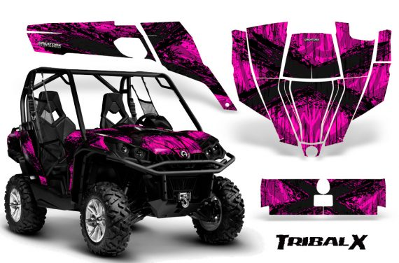 Can-Am-Commander-CreatorX-Graphics-Kit-TribalX-Black-Pink