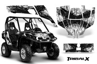 Can-Am-Commander-CreatorX-Graphics-Kit-TribalX-Black-White