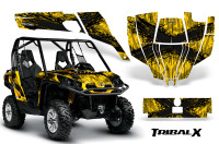 Can-Am-Commander-CreatorX-Graphics-Kit-TribalX-Black-Yellow